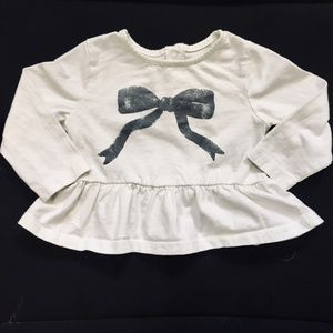 Other - White Wrap it with a Bow Shirt
